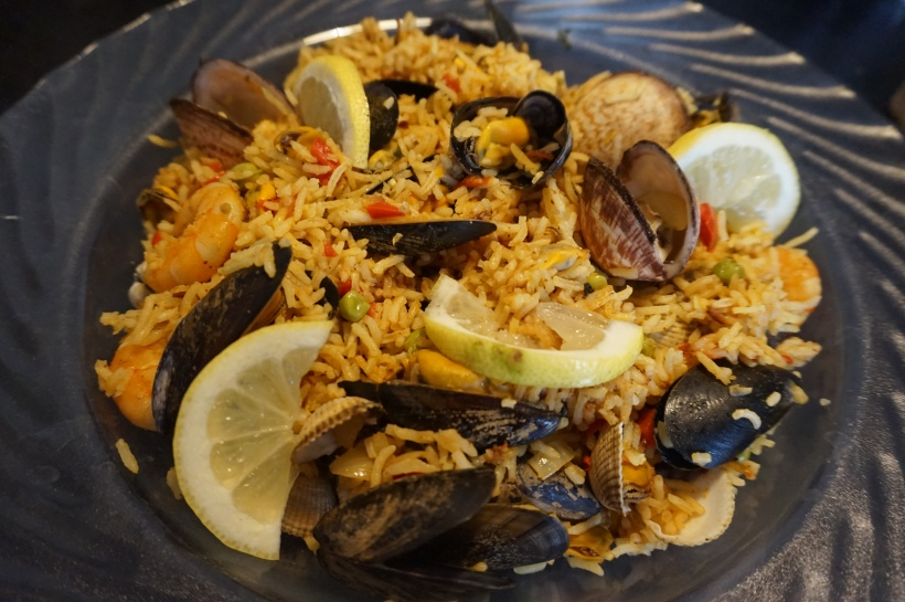 paella fruits de mer