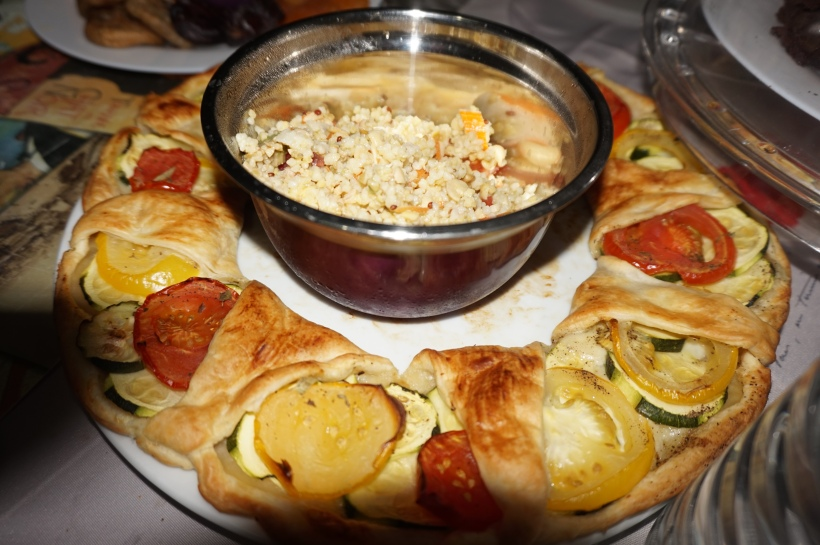 tarte couronne 2 tomates courgette