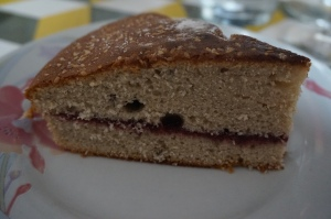 part gateau fruits rouges