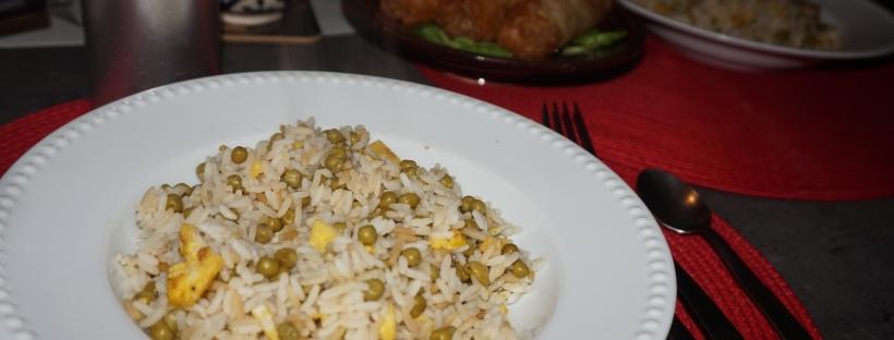 riz cantonnais sans lardons