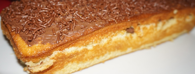 gateau nature nappage Nutella