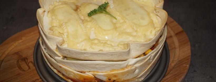 lasagnes tortillas de blé