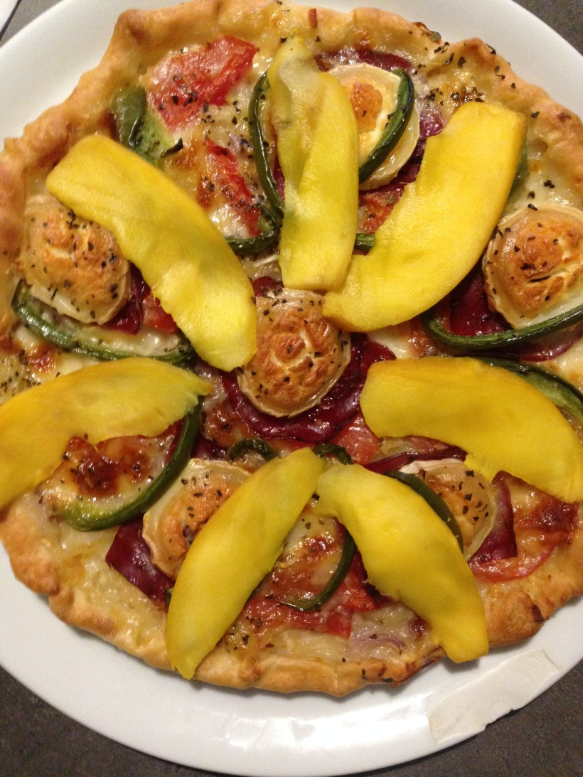 Pizza mangue chèvre