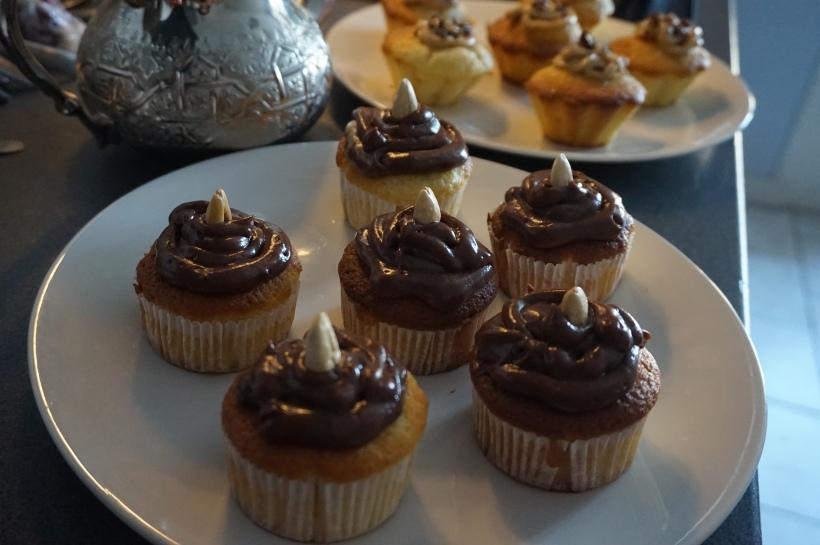 cupcake Nutella