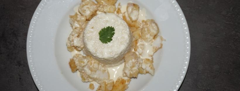 Cabillaud crème au beurre