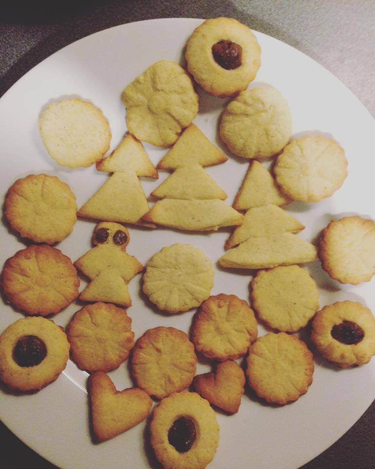Sablés des fêtes aux 4 épices