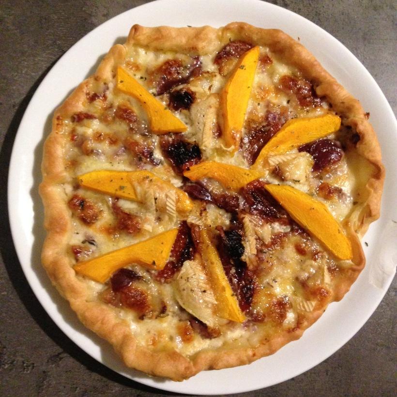 pizza citrouille