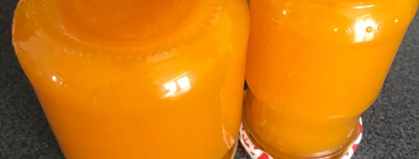 confiture potiron gingembre citron