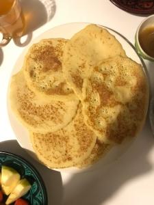 Mkhanfar pancake marocain