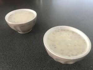 Petit lait à la semoule d'orge