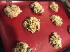 Cookies healthy aux flocons d'avoine in progress