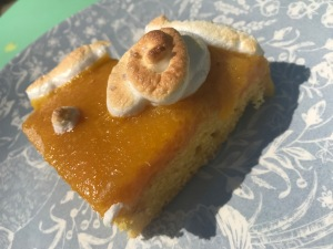Gâteau maïzena à l'orange